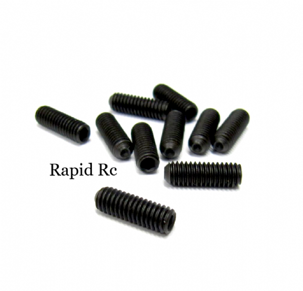 Grub Screw Socket Head High Tensile M4 x 12mm